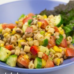 Black Eyed Pea Pasta Salad