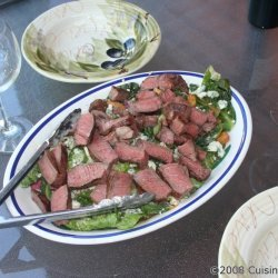 Grilled Steak Caesar Salad recipe