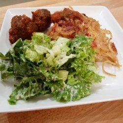 Spaghetti and Meatball Frittata
