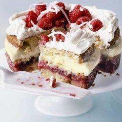 Raspberry Coconut Trifle