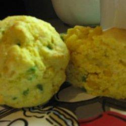 Low-Fat Jalapeno Cornbread Muffins