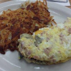 Egg - Ham & Cheese Omelete