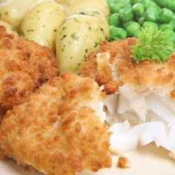 Oven Fried Cod