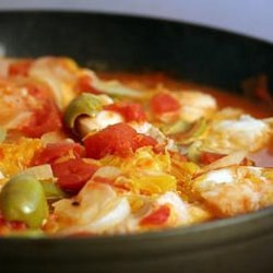 Ling Cod with Tomato and Orange Recipe