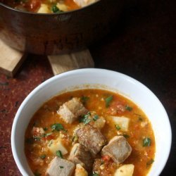 Tuna and Pepper Stew
