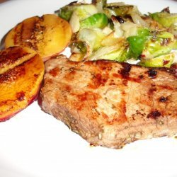 Peach-Glazed Grilled Pork Chops