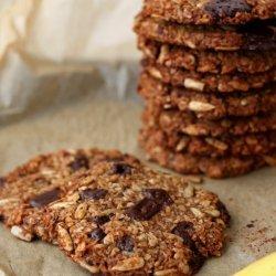 Healthy Banana Oat Cookies