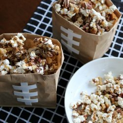 Chocolate Caramel-Nut Popcorn