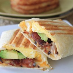 Ww Egg and Bacon Breakfast Burritos