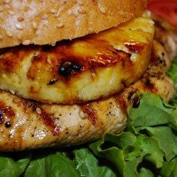 Grilled Pineapple Chicken Sandwiches