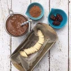 Vegan Chocolate and Banana Smoothie