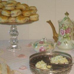 Ham Tea Biscuits With Blackberry Mustard or Lemon Herb Butter recipe