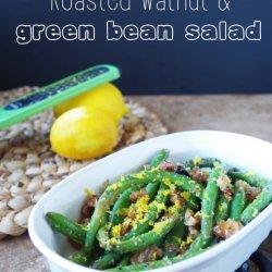 Walnut and Three-Bean Salad