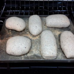 Whole Wheat Ciabatta Bread Rolls or Loaves