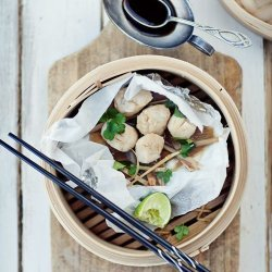 Asian Style Steamed Scallops