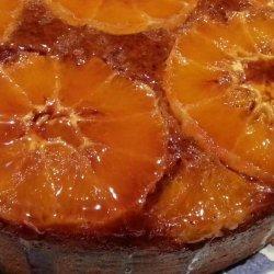 Sticky Orange Sponge Cake