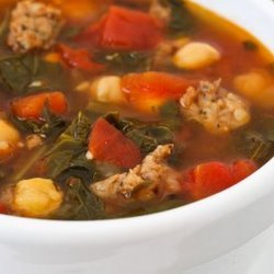 Sausage and Chickpea Soup