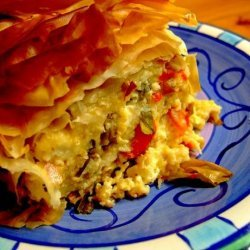 South African-Greek Cheese Pie