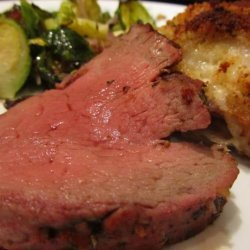 Roasted Beef Tenderloin Amazing! Where's the Beef?