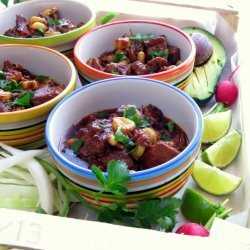 Posole (Pork and Hominy Stew)