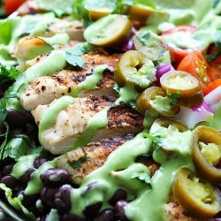 Spicy Cilantro Lime Dressing
