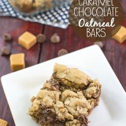 Chocolate Caramel Oatmeal Bars