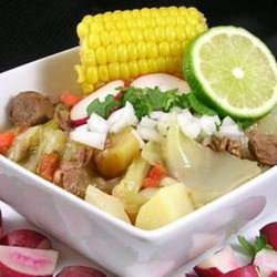 Beef Mexican Soup