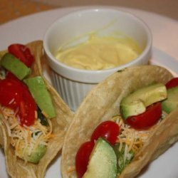 Mustard Girl Avocado Tacos recipe
