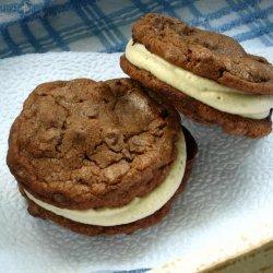 Chocolate Coffee Sandwich Cookies