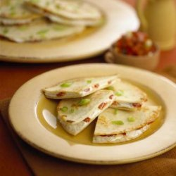 Roasted Red Pepper & Goat Cheese Quesadillas
