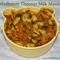 Mushrooms in Coconut Milk