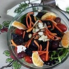 Healthy Almond-Berry Tossed Salad
