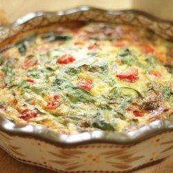 Spinach-Cheddar Frittata