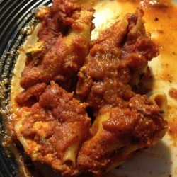 Cheese Stuffed Shells in the Pressure Cooker recipe