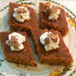 Karithopasta -  Greek Walnut Syrup Cake