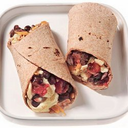 Black Bean Breakfast Burritos