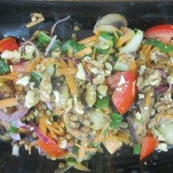 Vegetable and Lentil Salad