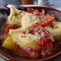 Pasta Shells Stuffed With Five Cheeses