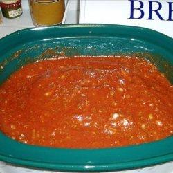 Heather's Vegetarian Spaghetti Sauce