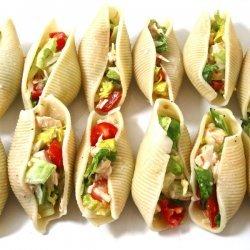 Chicken Salad-Stuffed Shells