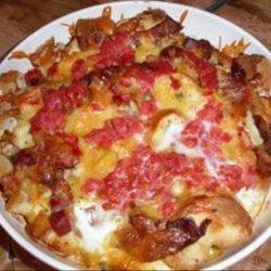 Bacon N' Cheese Strata