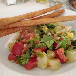 Shrimp Coriander Salad