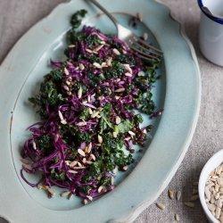 Cabbage Lentil Salad