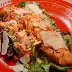 Quick & Simple Salmon Caesar Salad