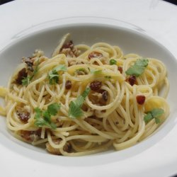 Simple Sicilian Spaghetti
