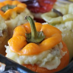 Vegetarian Stuffed Bell Peppers