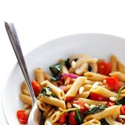 Spinach and Tomato Pasta