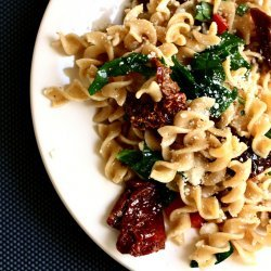 Spinach & Feta Whole Wheat Pasta
