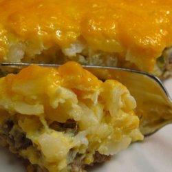 Cheese, Potato, and Sausage Casserole