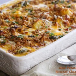 Potato, Broccoli and Cheese Casserole